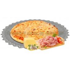 Пирог с курицей, грибами и сыром 800 гр