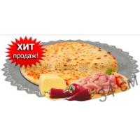Пирог с курицей, сыром и болгарским перцем 1200 гр