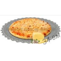 Пирог с сыром и грибами 1200 гр
