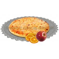 Осетинский постный пирог сладкий с яблоками и апельсинами 1200 гр