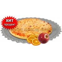 Осетинский пирог сладкий с яблоками и апельсинами 1200 гр