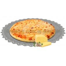 Пирог с сыром и грибами 800 гр