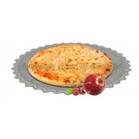 Осетинский пирог сладкий с яблоками и вишней 1200 гр