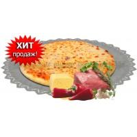 Мясо,сыр,грибы и болгарский перец 1200 гр.